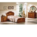 Milady Italian Single Bed with 2 Nightstands
