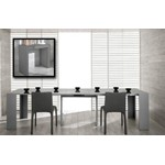 Morph - Modern Ultra-Compact Extendable Grey Dining Table