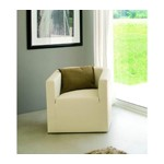 Oasi - Modern Eco-Leather Armchair
