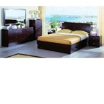 Palermo Platform Bed Group with storage