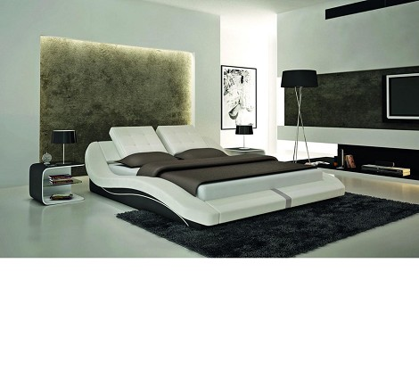S608 - Contemporary Eco-Leather Bed