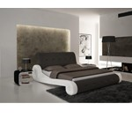 S610 - Contemporary Eco-Leather Bed
