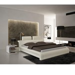 S611 - Contemporary Eco-Leather Bed