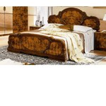Serena Walnut Traditional Italian Bed