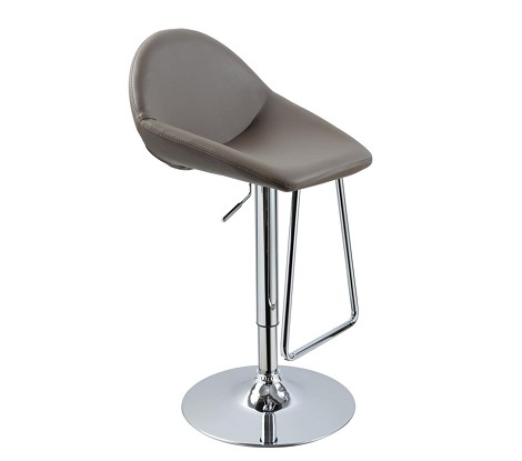 T1138 - Eco-Leather Contemporary Bar Cap Stool