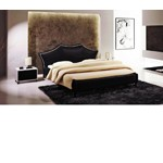 U503 - Transitional Eco-Leather Bed