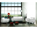 Divani Casa 269 - Modern Italian Leather Sofa Set