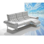 Ivan - Made in Italy Full Leather Sofa with Chaise