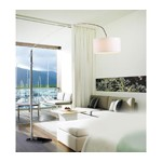 7022 - Modern White Floor Lamp