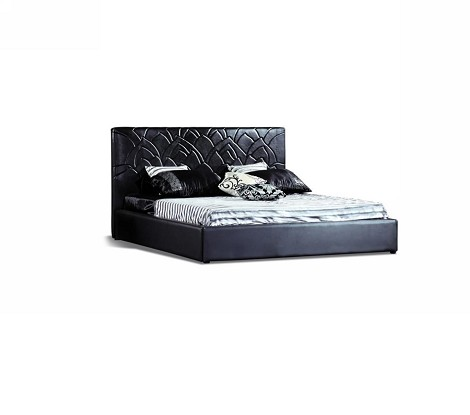 389B - Modern Eco-Leather Bed