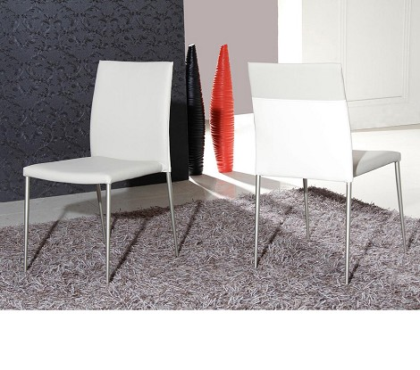 HY-181CH-D - Modern White Chair