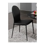 167CH-BLK - Black Contemporary Modern Dining Chair
