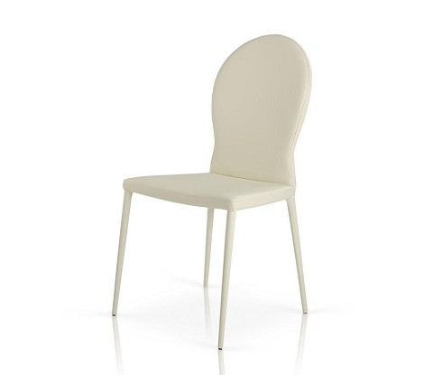 167CH-WHT - White Contemporary Modern Dining Chair