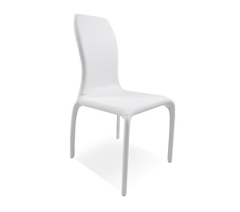 187CH - White Modern Dining Chair