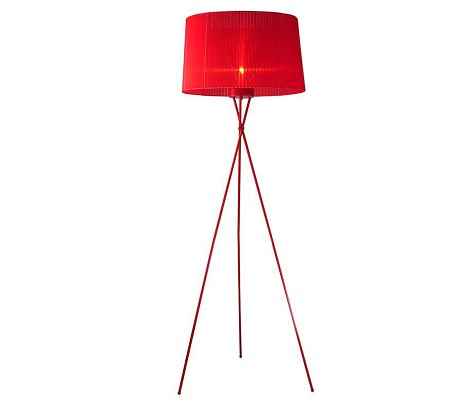 2010 - Modern Red Floor Lamp