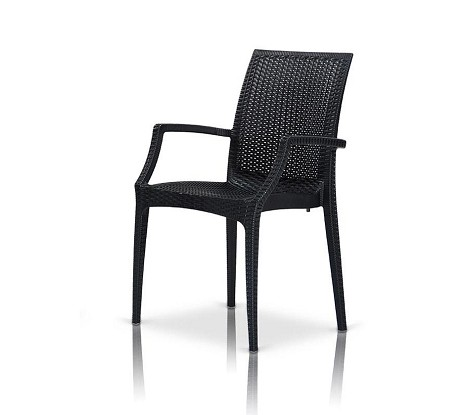 Bistrot - Modern Patio Dining Arm Chair