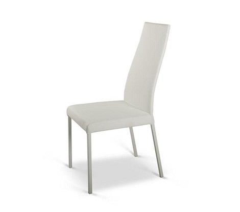 Y017 - Modern White Dining Chair