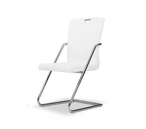 Y040 - Modern White Dining Chair
