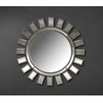 Crescent - Transitional Sun Design Mirror