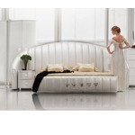 Sea Shell - Tufted Leatherette Bed