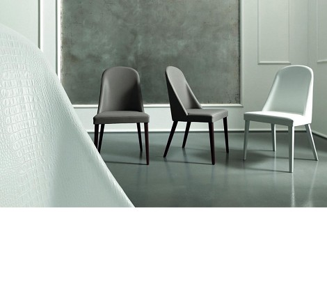 Armonia - Modern Eco-Leather Side Chair