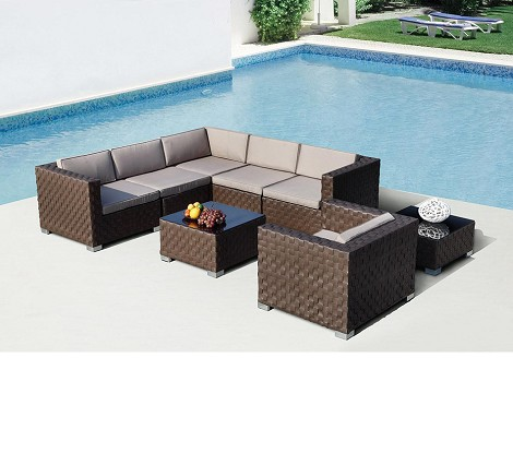 Barbados - Modern Sectional Sofa Set