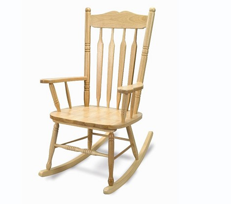 HARDWOOD ADULT ROCKING CHAIR IMPORT