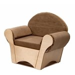 CHILD'S EASY CHAIR - TAN